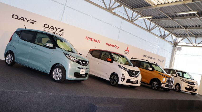 Nissan and Mitsubishi expand NMKV partnership – four new kei cars be launched later this month Image #934652