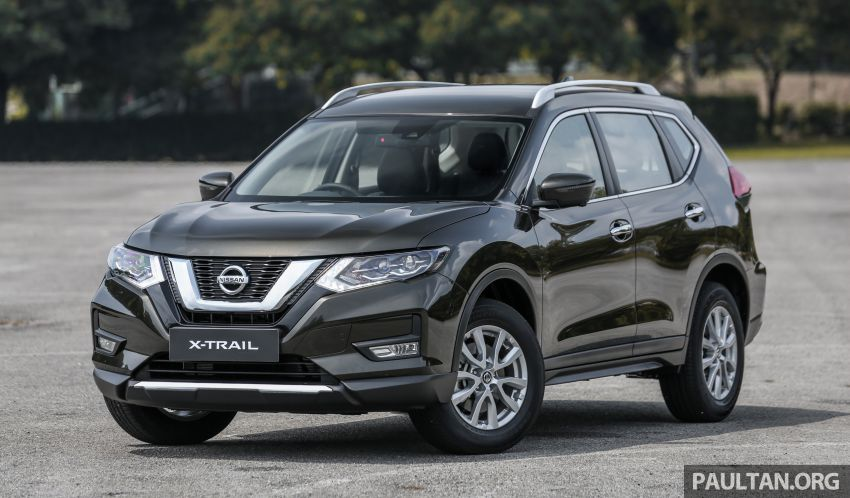 T32 Nissan X-Trail facelift – all four variants previewed! Image #931304