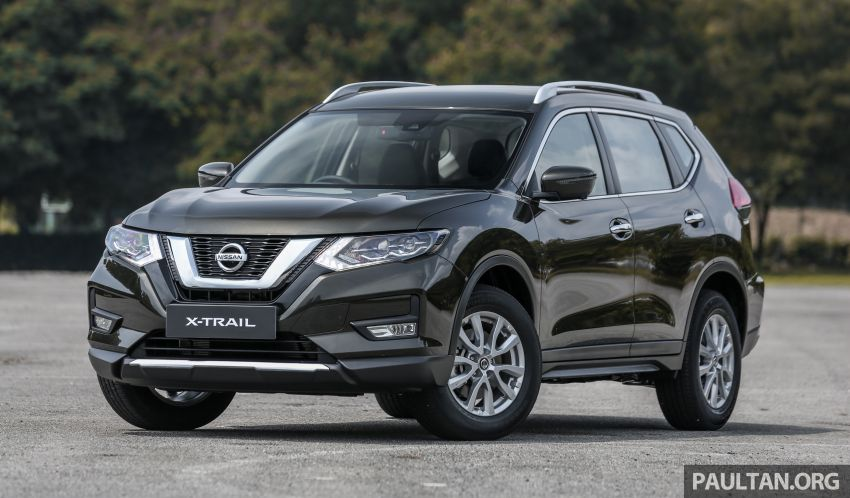 T32 Nissan X-Trail facelift – all four variants previewed! Image #931305