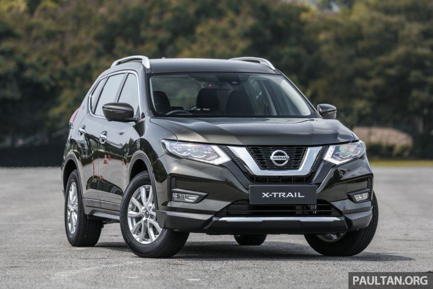T32 Nissan X-Trail facelift – all four variants previewed! Image #931307