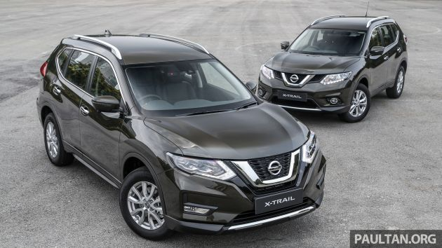 Nissan X Trail >> Gallery T32 Nissan X Trail New 2019 Facelift Vs Old