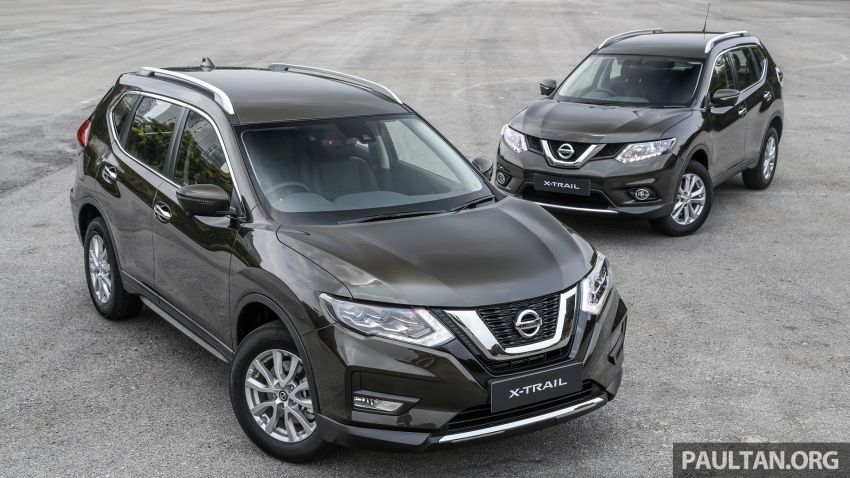 GALLERY: T32 Nissan X-Trail – new 2019 facelift vs old Image #932722