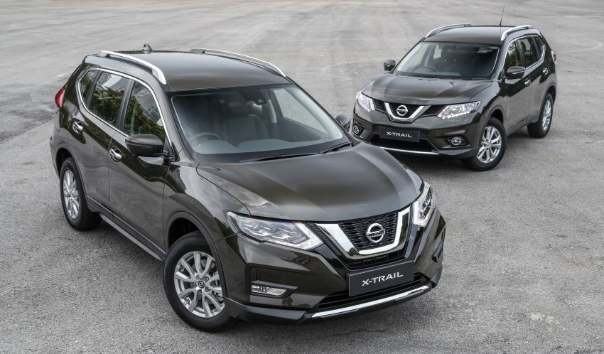 GALLERY: T32 Nissan X-Trail – new 2019 facelift vs old Image #932577