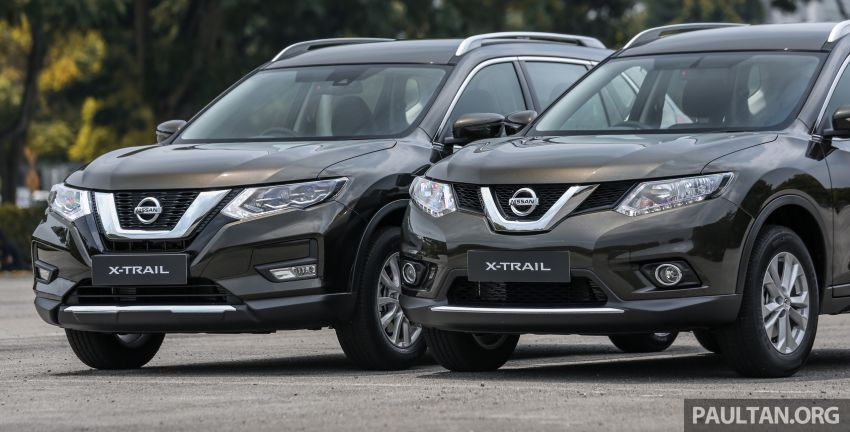 GALLERY: T32 Nissan X-Trail – new 2019 facelift vs old Image #932586