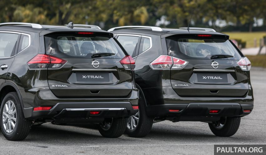 GALLERY: T32 Nissan X-Trail – new 2019 facelift vs old Image #932587
