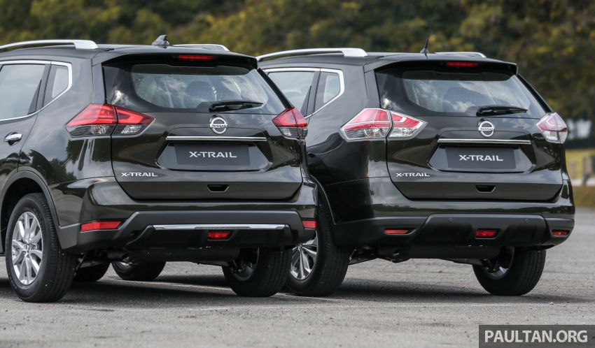 GALLERY: T32 Nissan X-Trail – new 2019 facelift vs old Image #932589
