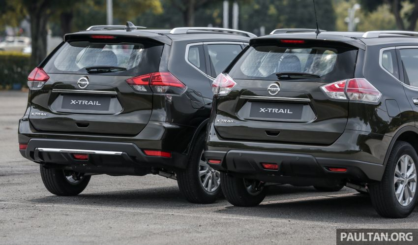 GALLERY: T32 Nissan X-Trail – new 2019 facelift vs old Image #932590