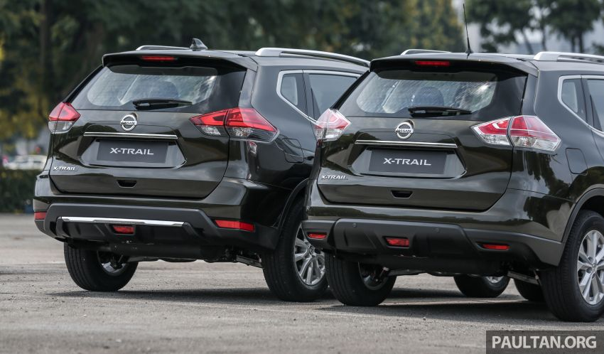 GALLERY: T32 Nissan X-Trail – new 2019 facelift vs old Image #932591