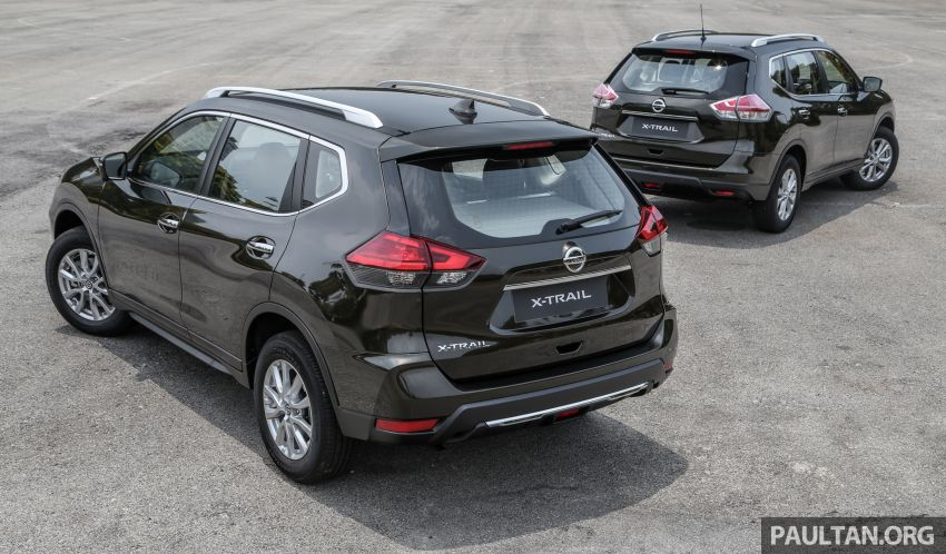 GALLERY: T32 Nissan X-Trail – new 2019 facelift vs old Image #932578