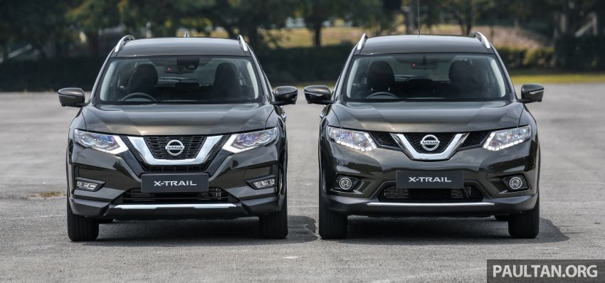 GALLERY: T32 Nissan X-Trail – new 2019 facelift vs old Image #932579