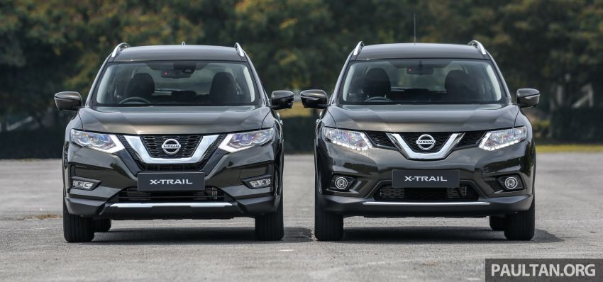 GALLERY: T32 Nissan X-Trail – new 2019 facelift vs old Image #932580