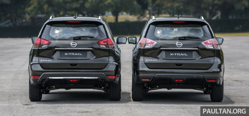 GALLERY: T32 Nissan X-Trail – new 2019 facelift vs old Image #932581