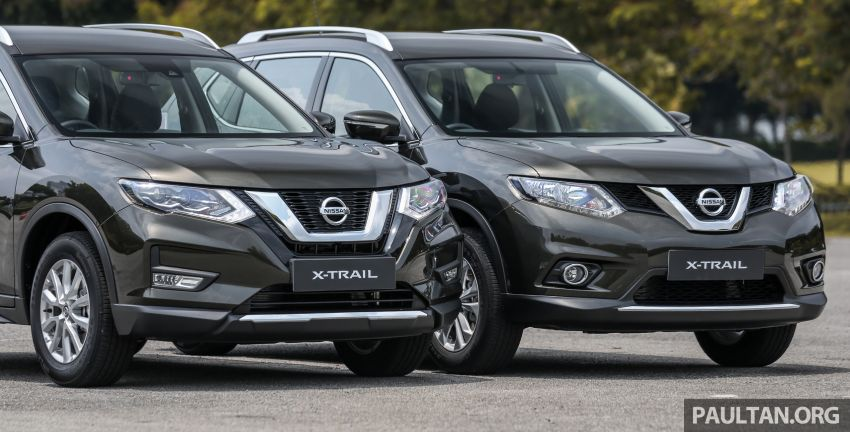 GALLERY: T32 Nissan X-Trail – new 2019 facelift vs old Image #932584