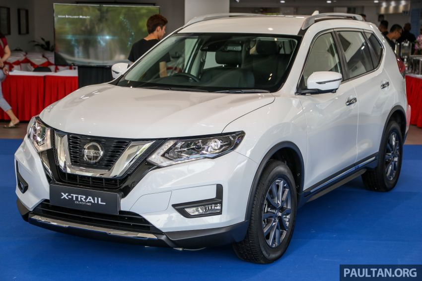 T32 Nissan X-Trail facelift – all four variants previewed! Image #931625