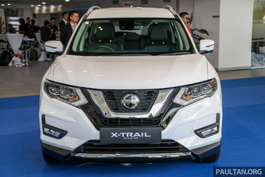 T32 Nissan X-Trail facelift – all four variants previewed! Image #931627