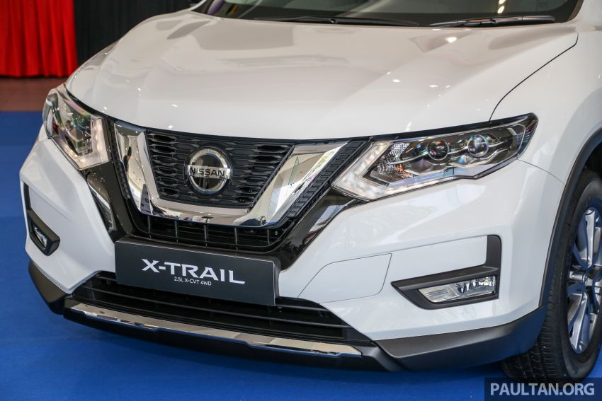 T32 Nissan X-Trail facelift – all four variants previewed! Image #931630