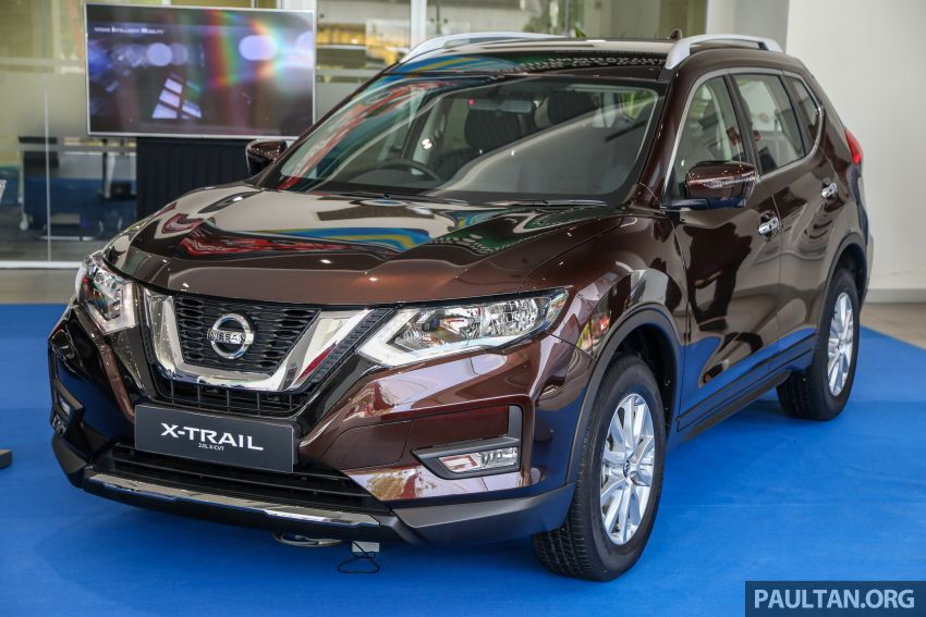 T32 Nissan X-Trail facelift – all four variants previewed! Image #931578