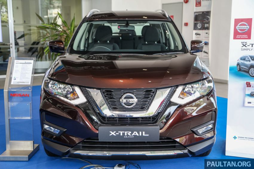 T32 Nissan X-Trail facelift – all four variants previewed! Image #931580