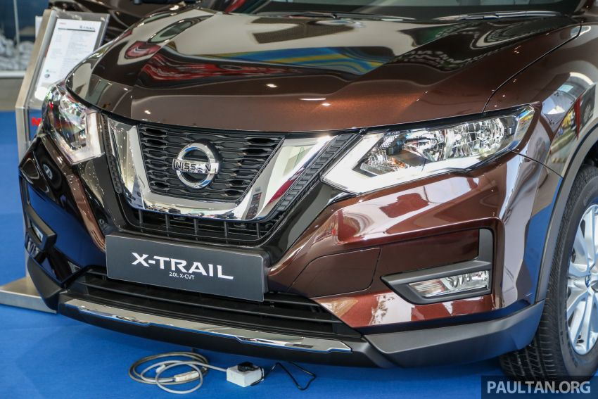 T32 Nissan X-Trail facelift – all four variants previewed! Image #931583