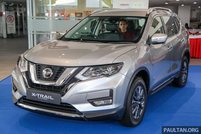 T32 Nissan X-Trail facelift – all four variants previewed! Image #931676