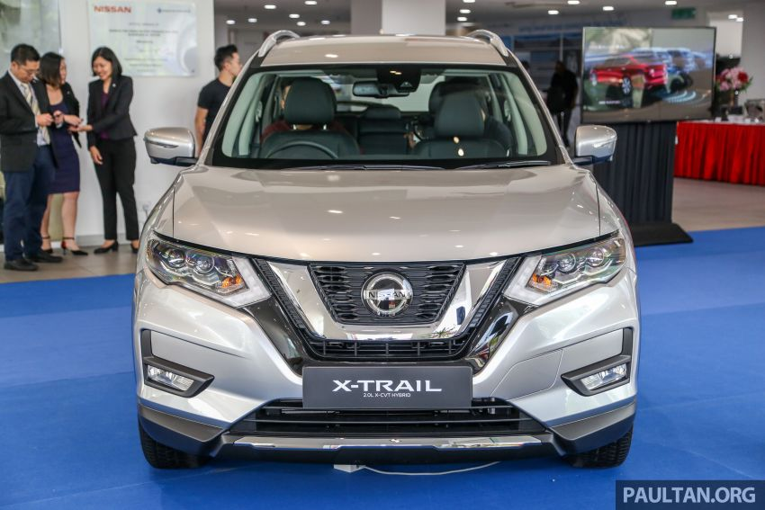 T32 Nissan X-Trail facelift – all four variants previewed! Image #931678
