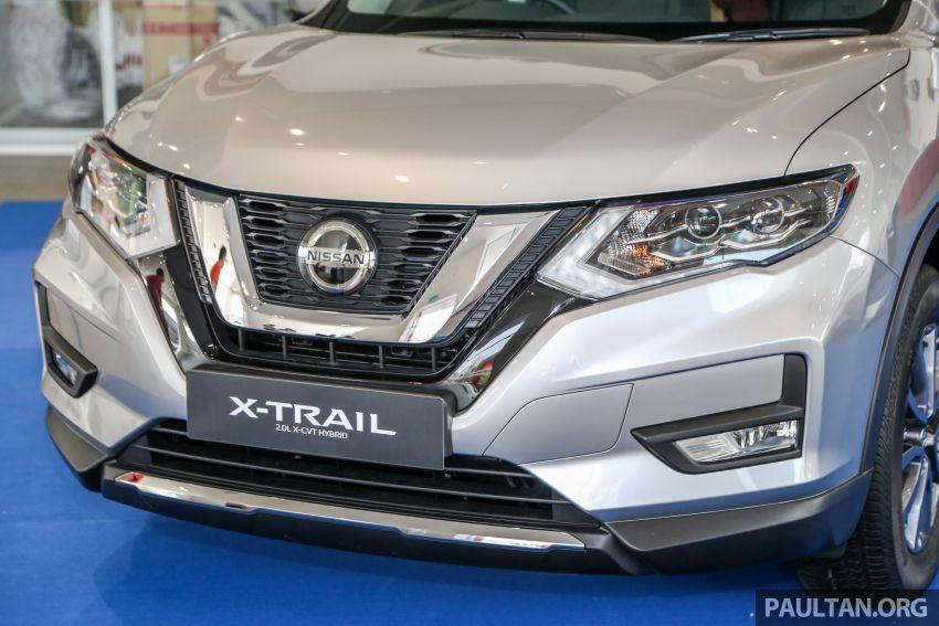 Nissan X-Trail <em>facelift</em> dipertonton di M'sia – empat varian, 2.0L hibrid baru; harga dari RM134k-RM160k Image #931931