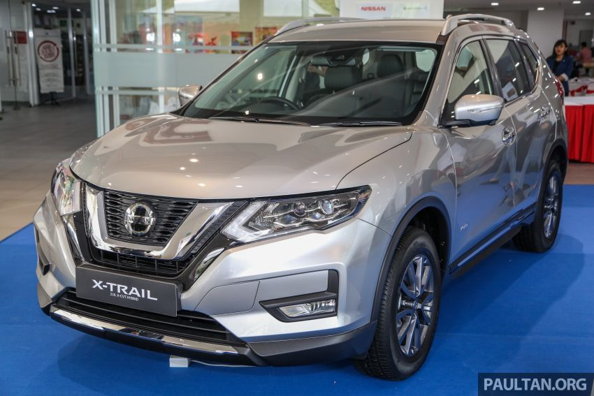 T32 Nissan X-Trail facelift – all four variants previewed! Image #931494