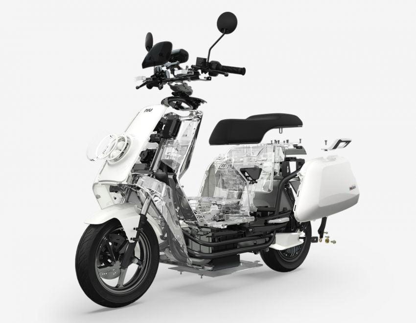 Niu tiba di M'sia – skuter elektrik dengan jarak gerak 80 km sekali cas, laju maksimum 55 km/j, RM8,800 Image #928848