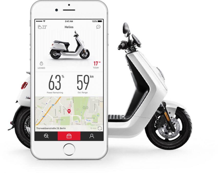 Niu tiba di M'sia – skuter elektrik dengan jarak gerak 80 km sekali cas, laju maksimum 55 km/j, RM8,800 Image #928852