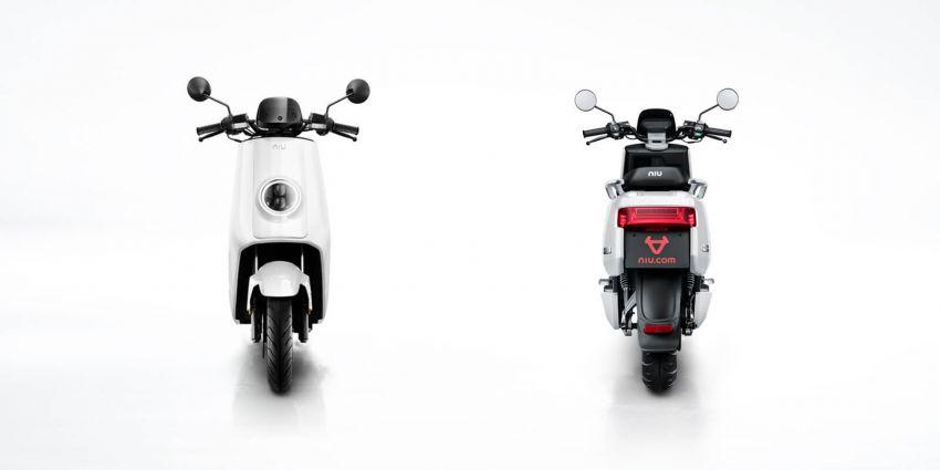 Niu tiba di M'sia – skuter elektrik dengan jarak gerak 80 km sekali cas, laju maksimum 55 km/j, RM8,800 Image #928835