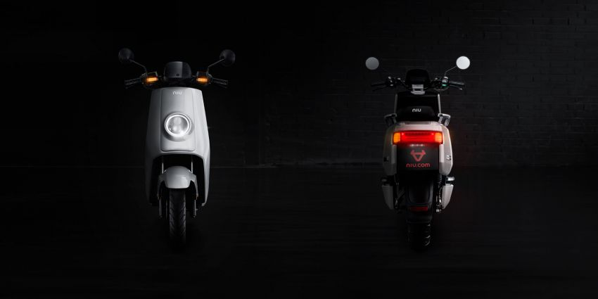Niu tiba di M'sia – skuter elektrik dengan jarak gerak 80 km sekali cas, laju maksimum 55 km/j, RM8,800 Image #928836