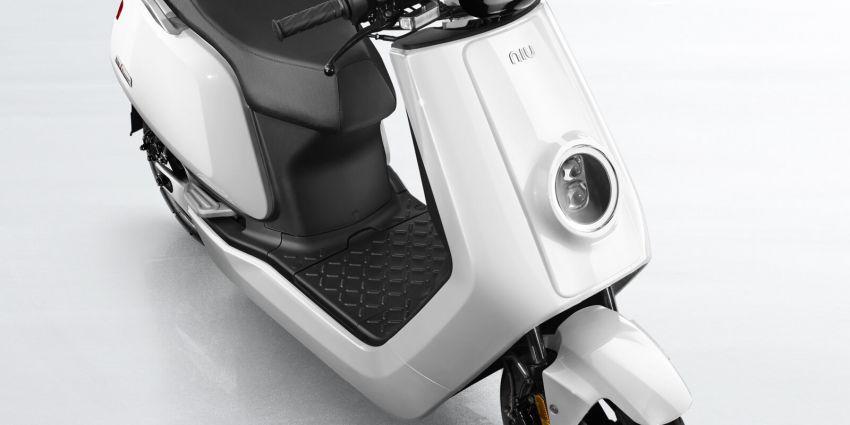 Niu tiba di M'sia – skuter elektrik dengan jarak gerak 80 km sekali cas, laju maksimum 55 km/j, RM8,800 Image #928839