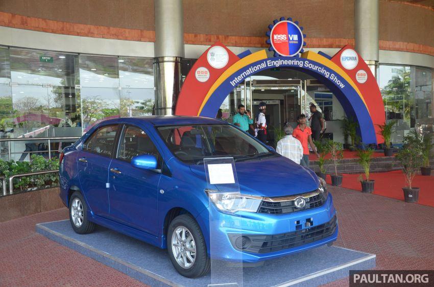 GALERI: Perodua Bezza dan Myvi dibawa ke Chennai Trade Center, India untuk dipamerkan kepada awam Image #934670