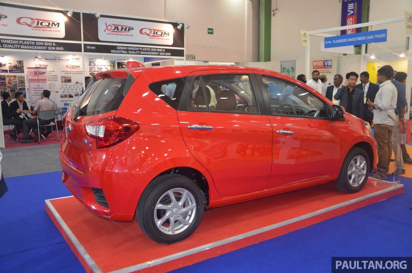 Perodua Bezza, Myvi on display at 2019 IESS in India Image #934774