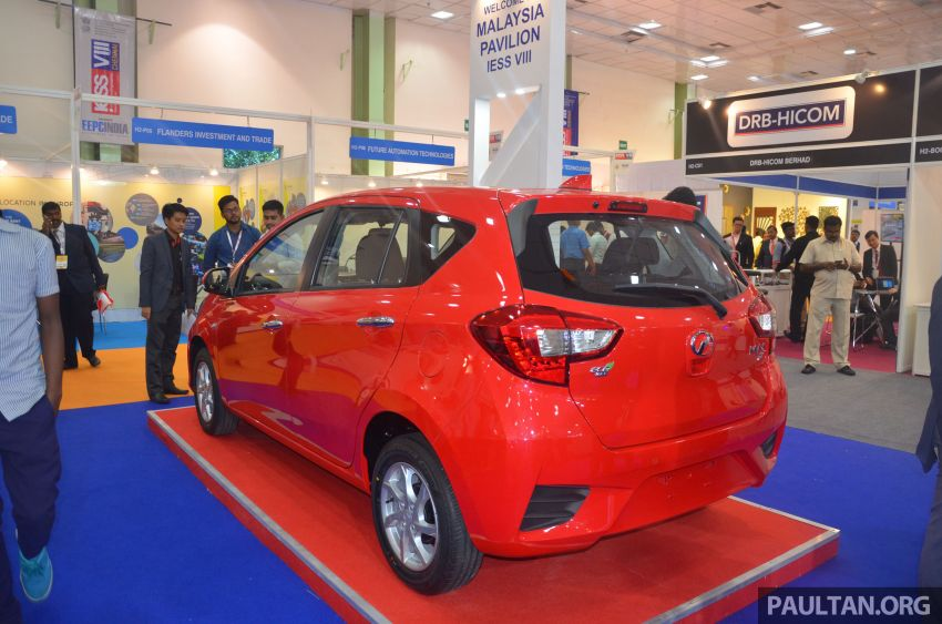 Perodua Bezza, Myvi on display at 2019 IESS in India Image #934775