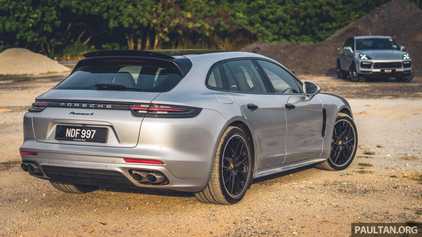 Porsche Club Malaysia Drive of the Year 2019: driving back to KL in Cayenne and Panamera Sport Turismo Image #933347