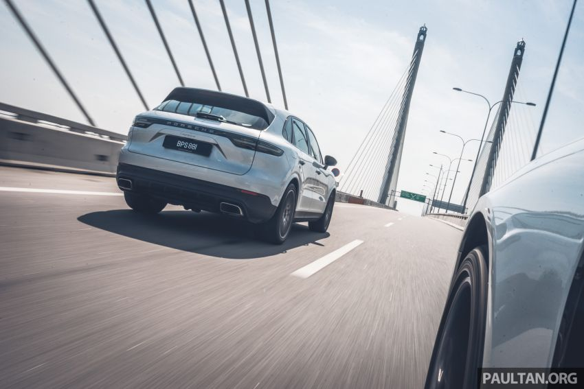 Porsche Club Malaysia Drive of the Year 2019: driving back to KL in Cayenne and Panamera Sport Turismo Image #933389