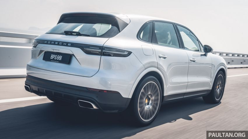 Porsche Club Malaysia Drive of the Year 2019: driving back to KL in Cayenne and Panamera Sport Turismo Image #933396