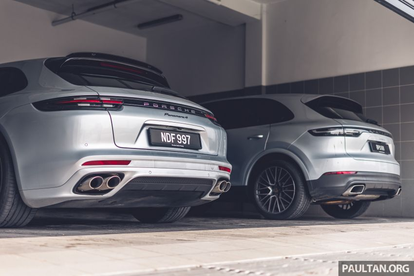 Porsche Club Malaysia Drive of the Year 2019: driving back to KL in Cayenne and Panamera Sport Turismo Image #933281