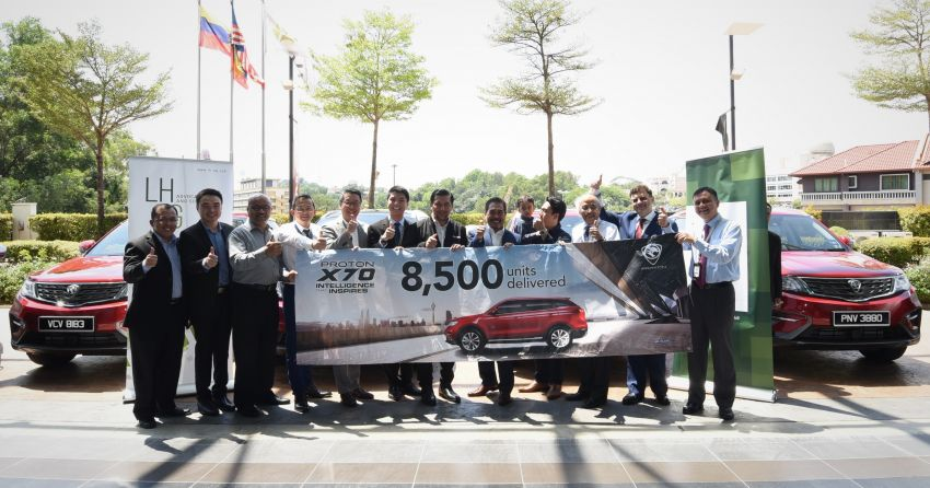 Proton delivers 8,500 units of X70 in the first 100 days, becomes one of the leaders in Malaysia's SUV market Image #940361