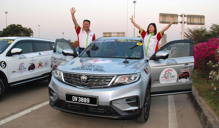 Malaysia-China Amazing Trip: Proton X70 owners drive 2,909 km in five days, convoy en route to Hangzhou Image #933876