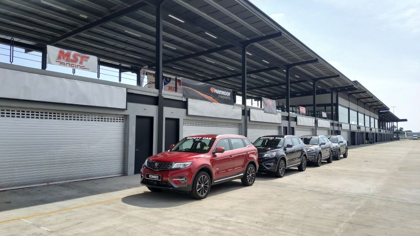 Proton X70 is the official car for the 2019 MSF season Image #935411