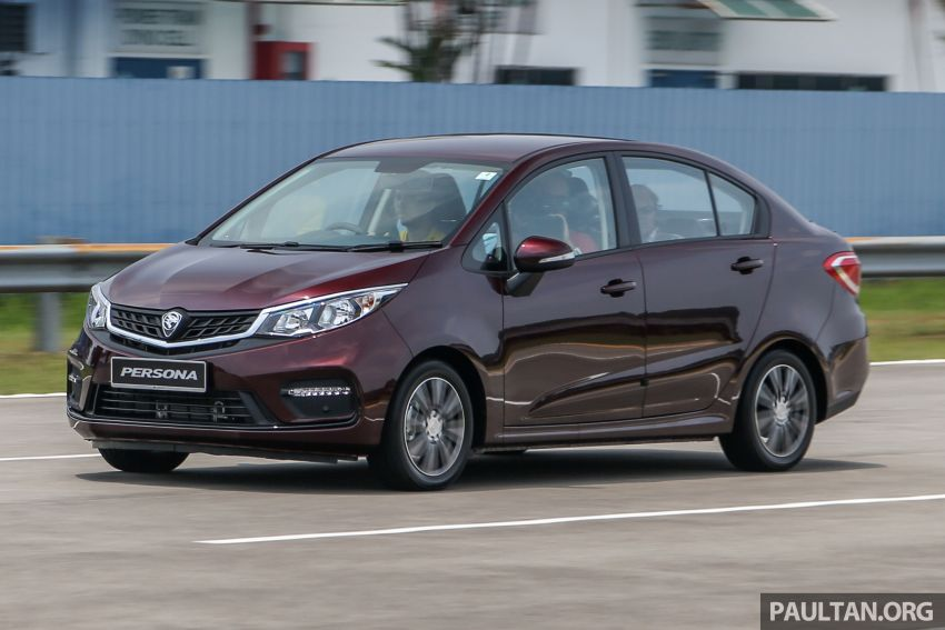 2019 Proton Persona facelift previewed, March launch Image #932766