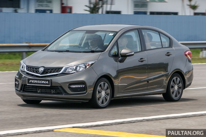 2019 Proton Persona facelift previewed, March launch Image #932768