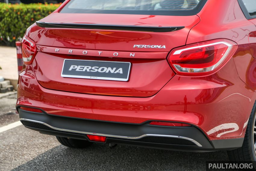 2019 Proton Persona facelift previewed, March launch Image #932760