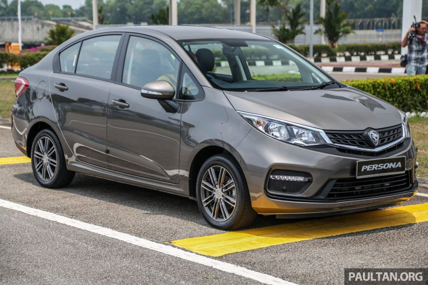 2019 Proton Persona facelift previewed, March launch Image #932761