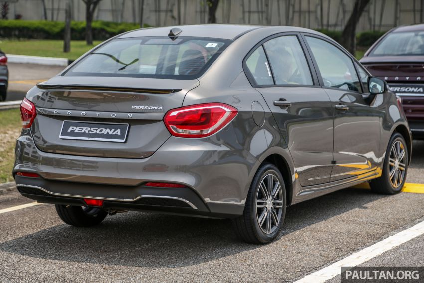 2019 Proton Persona facelift previewed, March launch Image #932762