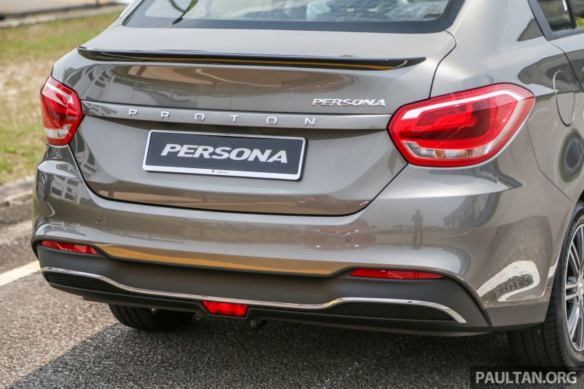 2019 Proton Persona facelift previewed, March launch Image #932764