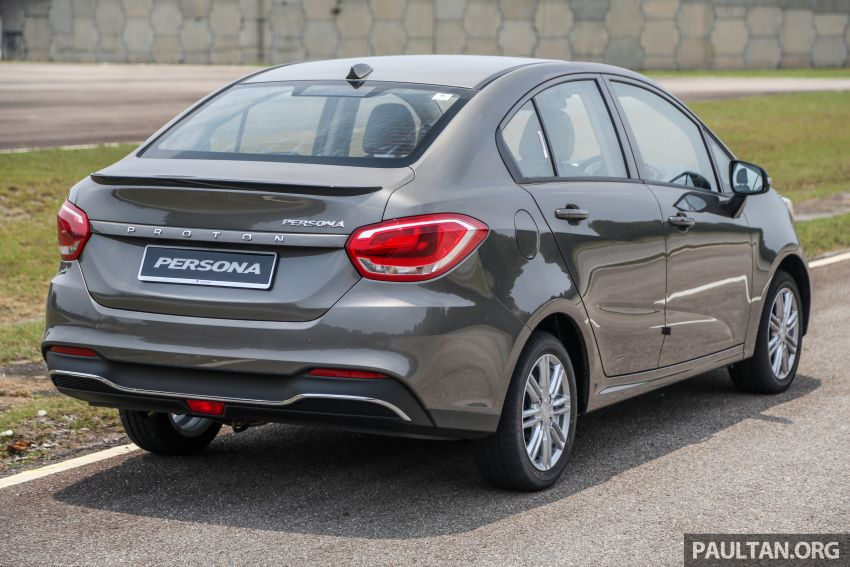 2019 Proton Persona facelift previewed, March launch Image #932651