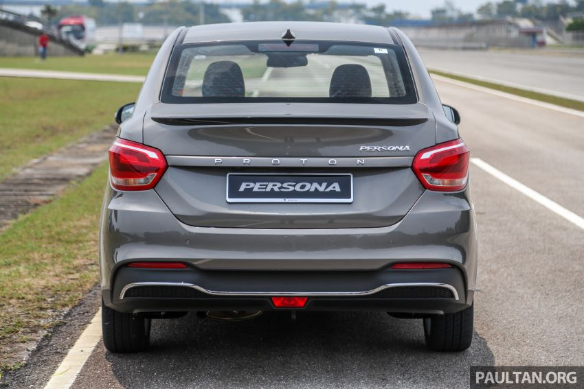 2019 Proton Persona facelift previewed, March launch Image #932653